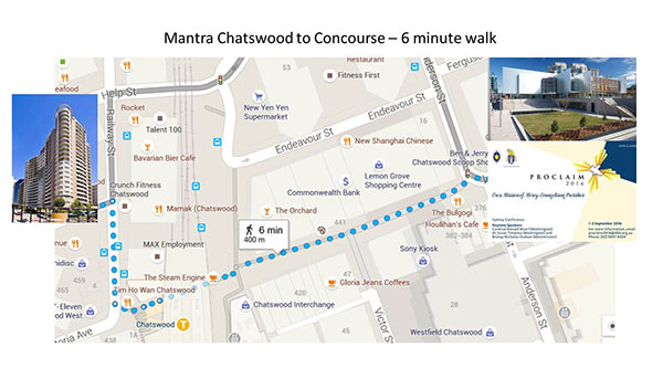 Map Concourse to Mantra