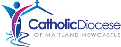 catholic diocese maitland newcastle logo
